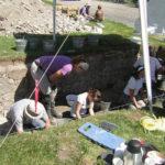Fouilles archéologiques à La Grande Ferme
