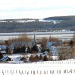 Vue hivernale de Saint-Joachim