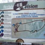 Panneau central Archéo-vision
