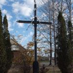 Croix de chemin au village de Saint-Joachim